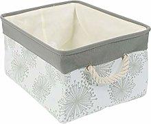 sourcingmap Storage Basket Bin with Cotton