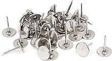 sourcingmap Upholstery Nails Tack, 11mm Head Dia