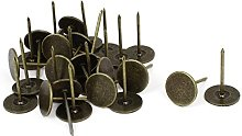 sourcingmap Upholstery Nails Tack, 19mm Head Dia