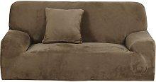 Sourcingmap Velvet Plush Sofa Cover Loveseat Couch