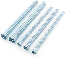 Sourcingmap® Zinc Plated Steel Wire Spring Tube