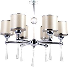 Sousa 6-Light Shaded Chandelier Canora Grey