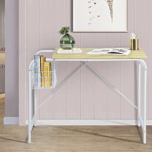 Southerland Desk Mercury Row Frame Colour: White,
