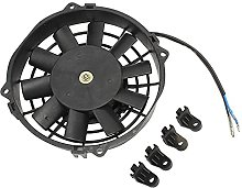 SOWBAY Universal Motorcycle Cooling Fan 8in 12V