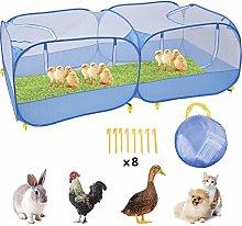 SOWLFE Chicken Coop For 6 Chickens - Outdoor Pet