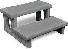 Spa Steps Grey