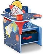 Space Adventures Chair Desk With Storage Bin
