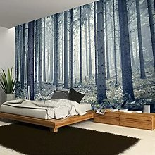 Space Expansion Forest Tree 3D Photo Mural