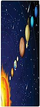 Space Runner Rug, 2'x5', Solar System with