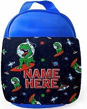Space T Rex Lunch Bag Kids Boys School