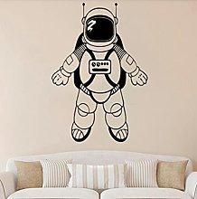 Spaceman Wall Decal Astronaut Art Door Window
