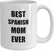 Spanish Mom Mug for Spanish Mom Gift for Spanish