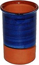 Spanish Style Ceramic Wine Cooler (Blue)
