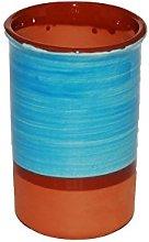 Spanish Style Ceramic Wine Cooler (Light Blue)