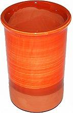 Spanish Style Ceramic Wine Cooler (Orange)
