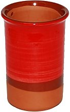 Spanish Style Ceramic Wine Cooler (Red)