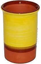 Spanish Style Ceramic Wine Cooler (Yellow)