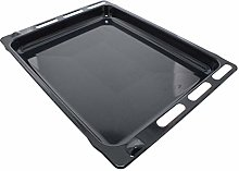 sparefixd Cooker Oven Enamel Baking Tray Grill