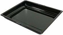 sparefixd Enamel Grill Pan Baking Tray 280 x 355mm