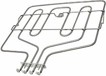 sparefixd Top Upper Grill Heater Element for Bosch