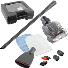 SPARES2GO Car Cleaning Valet Kit for Miele Vacuum
