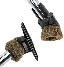 SPARES2GO Combination Horse Hair Brush &