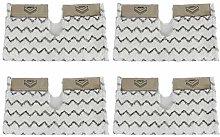 Spares2go Cover Pads for Shark S6001 S6003 Klik