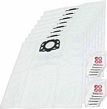 SPARES2GO Dust Bags compatible with Karcher MV4