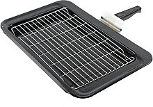 SPARES2GO Enameled Grill Pan Kit for Falcon Oven