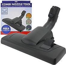 SPARES2GO Floor Brush Tool for Miele Compact
