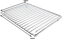 SPARES2GO Grill Pan Grid Mesh for Flavel Oven