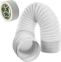 SPARES2GO Hose Pipe PVC Duct Extension Kit for