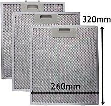 SPARES2GO Metal Mesh Cooker Hood Filter/Extractor