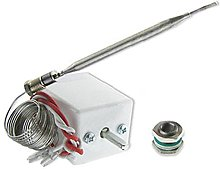 SPARES2GO RDC850-2LIN TH99 Type Control Thermostat