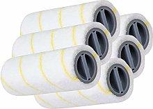 SPARES2GO Roller Set for Karcher Wet & Dry FC 3 FC