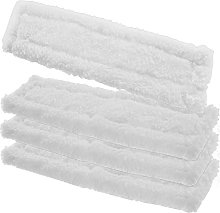Spares2go Spray Bottle Glass Cleaner Pads for