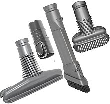 SPARES2GO Universal Crevice Upholstery Dirt Brush