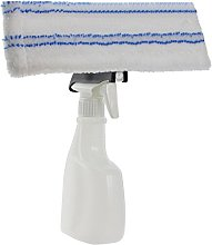 SPARES2GO Universal Spray Bottle + Pad Cover Cloth