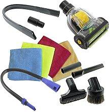SPARES2GO Universal Vacuum Cleaner Car Valet Turbo