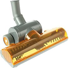 Spares2go Wheeled Turbo Brush Head Tool for Dirt