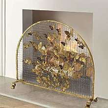 Spark Protection Fire Spark Guard Screen Gold