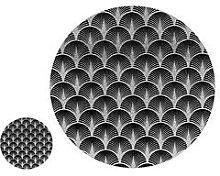 Sparkle Glass 6 Piece Placemat & Coaster Set
