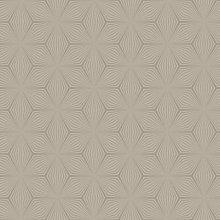 Sparkle Star Geometric Shimmer Wallpaper - Grey /