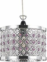 Sparkly Ceiling Pendant Shade with Clear and