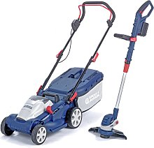Spear & Jackson 34cm Cordless Lawnmower and