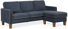 Spearman 4 Seater Modular Sofa Mercury Row