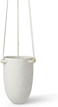 Speckle Small Hanging pot - / Stoneware - Ø 13.5