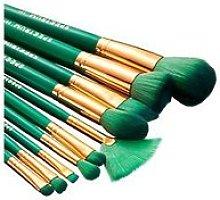 Spectrum 10 Piece Malachite Brush Set