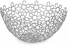 Spectrum 86770 Shapes Flowers/Fruit Bowl Round