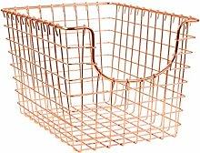 Spectrum Diversified Scoop Storage Basket, Small,